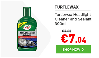 Turtlewax Headlight Cleaner and Sealant 300ml