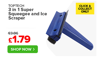 Top Tech 3 in 1 Super Squeegee