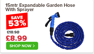 15mtr Expandable Garden Hose With Sprayer