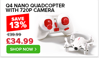 Hubscan Q4 Nano Quadcopter with 720P Camera