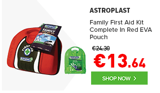 Family First Aid Kit Complete In Red EVA Pouch
