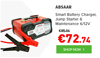 Smart Battery Charger, Jump Starter & Maintenance Charger 6/12V
