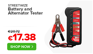 Streetwize Battery and Alternator Tester Basic