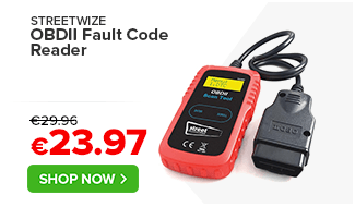 Streetwize OBDII Fault Code Reader