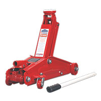 Sealey 1153CX Trolley Jack Yankee 3ton Long Chassis Extra Heavy-Duty