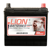 Lion 005 Car Battery - 3 Year Guarantee