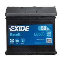 Exide Excel 012 Car Battery - 3 Year Guarantee