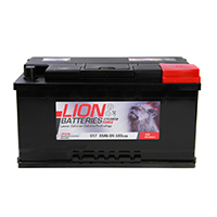 Lion 017 Car Battery - 3 Year Guarantee
