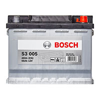 Bosch S3 Car Battery 027 3 Year Guarantee