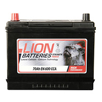 Lion 031 Car Battery - 3 Year Guarantee