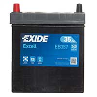 Exide Excell Battery 055 3 Year Guarantee