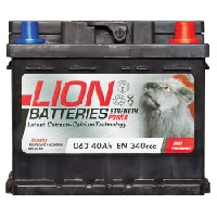 Lion 063 Car Battery - 3 Year Guarantee