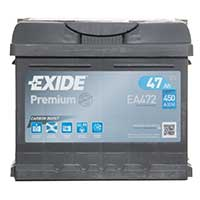 Exide Premium 063 Car Battery (47Ah) - 5 Year Guarantee