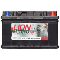Lion 100 Car Battery - (70Ah) 3 Year Guarantee