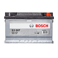 Bosch S3 Car Battery 100 (70Ah) 3 Year Guarantee