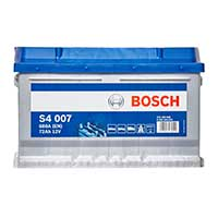 Bosch S4 Car Battery 100 (72Ah) 4 Year Guarantee