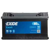 Exide Excell Battery 110 (80Ah) 3 Year Guarantee
