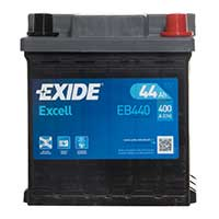 Exide Excel Car Battery 202 - 3 Year Guarantee