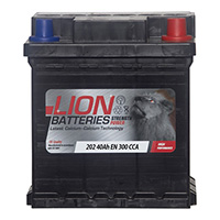 Lion 202 Car Battery - 3 Year Guarantee