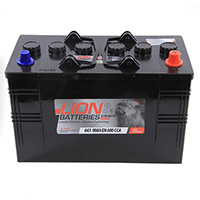 Lion Commercial Battery 643 - 2 Year Guarantee