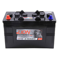 Lion Commercial Battery 644 - 2 Year Guarantee