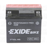 Exide ETX5L-BS Motorcycle Battery