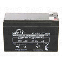 Leoch VRLA Sealed Battery - 12V 7Ah