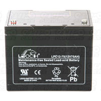 Leoch VRLA Sealed Battery - 12V 85Ah