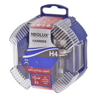 Neolux H4 (472) +50% Extra Light Upgrade Bulb Set
