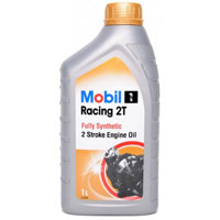 Mobil Racing 2T Engine Oil - 1ltr