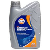 Gulf Superfleet Supreme Engine Oil - 15W-40 - 1ltr