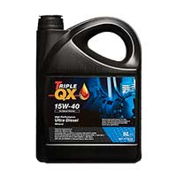 TRIPLE QX Mineral Diesel Engine Oil - 15W-40 - 5ltr