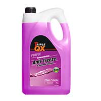 TRIPLE QX Purple Concentrated Antifreeze/Coolant (G13) 5Ltr