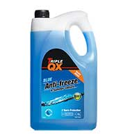 TRIPLE QX Blue Ready Mixed Antifreeze/Coolant 5Ltr