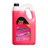 TRIPLE QX Red (Ready Mixed) Antifreeze/Coolant 5Ltr