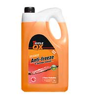 TRIPLE QX Orange Ready Mixed Antifreeze/Coolant - 5ltr
