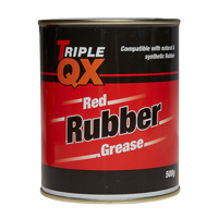 TRIPLE QX Red Rubber Grease 500g