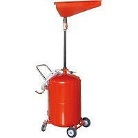 Top Tech Waste Oil Drainer 65ltr Air Discharge