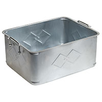 Aftermarket 20 litre steel oil drain pan