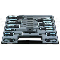 MasterPro 12 Piece screwdriver set