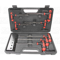 MasterPro 7 piece T-Bar Tampered TX Key Wrench Set