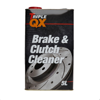 TRIPLE QX Brake and Clutch Cleaner -5LTin