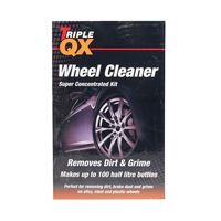 TRIPLE QX Super Concentrated Wheel Cleaner 1ltr + Trigger Bottle