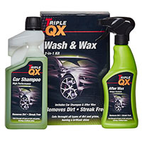 TRIPLE QX Super Concentrated Wash & Wax 1ltr + After Wax Spray