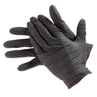 Bodyguard Black Nitrile Gloves GL8973 Size Large Box Of 100