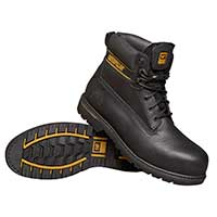 Holton (black) - Safety Work Boots  - Size 11