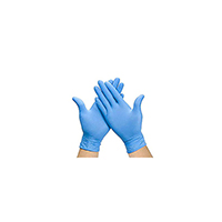 TRIPLE QX Box Of 100 Ecp P/ Free Nitrile Gloves Medium