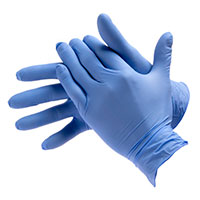 Bodyguard Box Of 100 Medium P/Free Premium Nitrile Gloves Gl8902