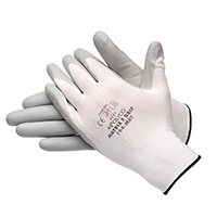 Bodyguard Matrix F Grip Palm Coated Gloves Grey - Size 8/Medium (Pack of12 Pairs)
