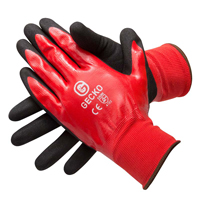 Gecko Gecko Oil Proof High Grip Gloves (Pair) - Size 10 Extra Large